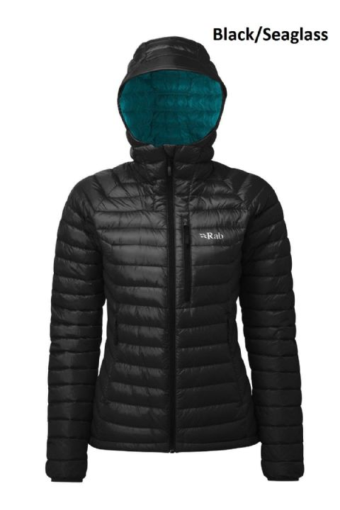 Rab Womens Microlight Alpine Down Jacket - Warm - Lightweight